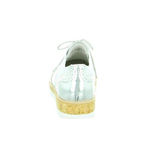62 Zapatos 90 Withe mujer cordones de para Off 558 Gabor gqa47W1a