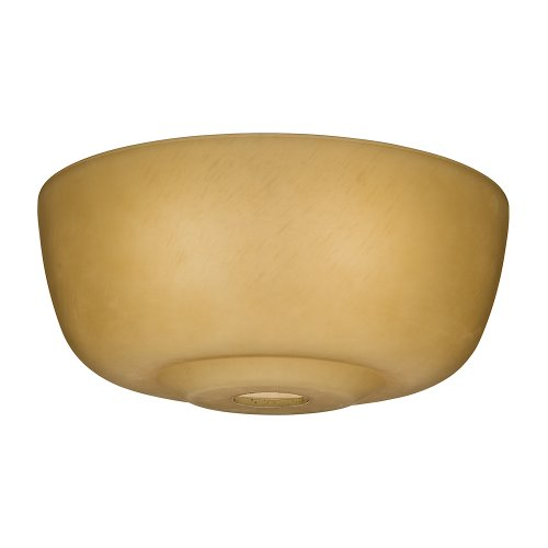 Casablanca Fan Company 99060 Transitional Glass Bowl for 99023, Toffee (Casablanca Pendant Glass)