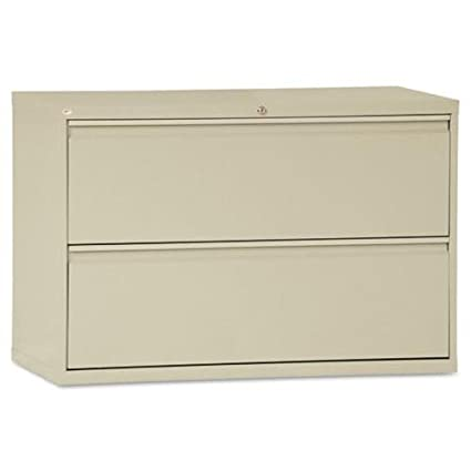 Alera LF4229PY 2 Drawer Lateral File Cabinet, 42 X 19 1/4
