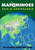 planet steam board game - MAPOMINOES ASIA AND AUSTRALASIA – Fun and educational geography card game about connecting countries in Asia & Australasia. For kids teens and adults. Like dominoes with maps.