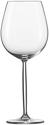 Schott Zwiesel Burgunder Copa 0, Set de 6, Diva, Vino Tinto, Vino Blanco, Forma 8015, 460 ml, 104095