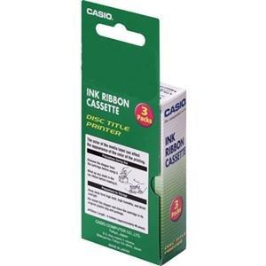 Casio, Inc.Ribbon,Printer,For CW-L300,CW-100,CW75,CW50,3/PK,Black ()