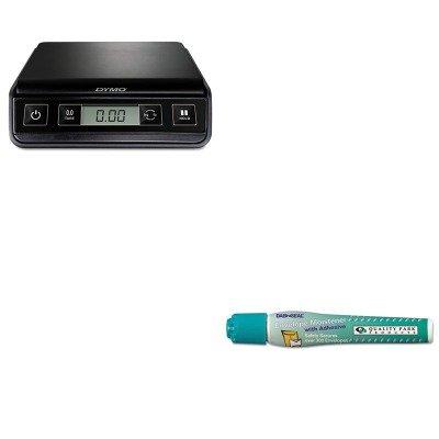 KITPEL1772055QUA46066 - Value Kit - Quality Park Dab n' Seal 2Go Moistener Pens (QUA46066) and Dymo M3 Digital Postal Scale (PEL1772055) by Quality Park