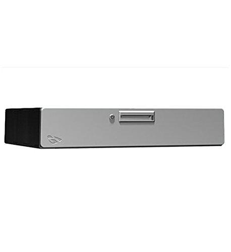 K&A Company Steel Storage Drawer - Single 6 Inch, 30'' x 6'' x 24'' x 59 lbs, Powder Coated Silver by K&A Company