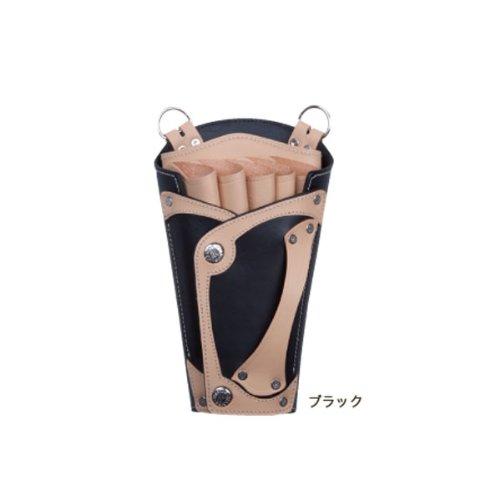 竹家 シザーハンズ SHT-キャス 5丁用 ブラック サイズ200×120×60mm 211g。 B00CCWD43E