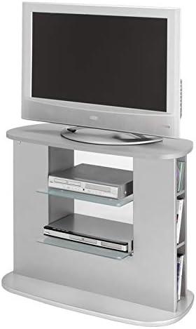 Mueble tv salon color gris mueble color gris plata auxiliar tv ...