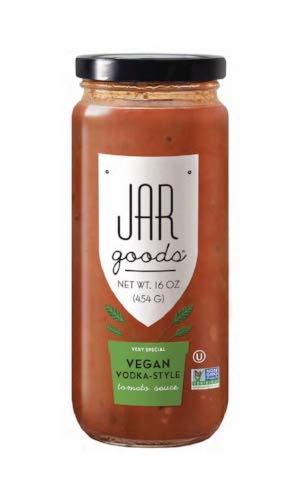 Jar Goods Vegan Vodka-Style Tomato Sauce 16 oz Glass Jar - Jar Pasta Sauce