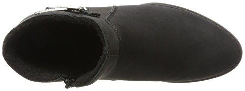 Botas Negro Mujer para Schwarz X1062 Rieker Anthrazit Schwarz 65pw88