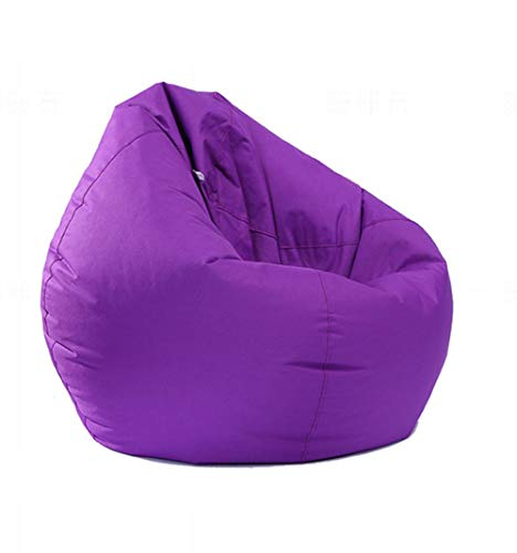 IRRIS Waterproof Bean Bag Chair Large Storage Bean Bag Oxford Chair Cover for Kids, Teens and Adults Lounger Sack Material: Cloth. Machine Washable Removable Slip Cover.