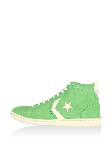 CONVERSE Hightop Sneaker Pro Leather Lp Mid Suede Grün