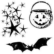 Inkadinkado Clear Mini Stamps, Halloween by Inkadinkadoo
