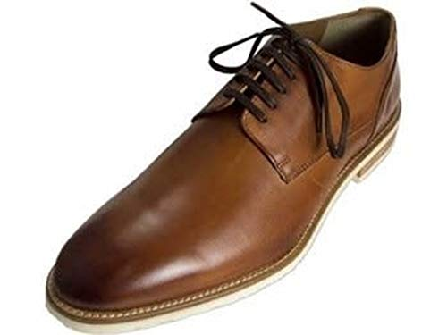 Bacco Bucci Perse Cognac Dress Shoe (8.5, Cognac)