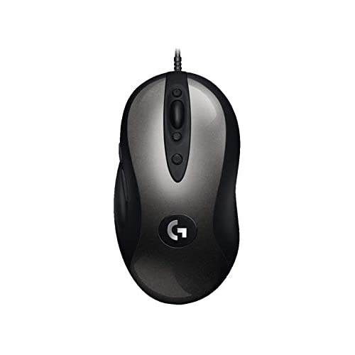 chollos oferta descuentos barato Logitech G MX518 Gaming Mouse HERO Sensor 16 000 Dpi ARM Processor 8 Botones programables Embalaje de Europa Occidental Negro