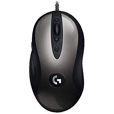 Logitech MX518 Gaming Mouse Hero Sensor 16  000 Dpi Arm Processor Programmable Buttons  European Packaging  Black