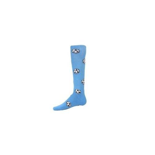 Red Lion Socks サッカーボール柄アスレチックソックス B008EMEKDE Small|ライトブルー ライトブルー Small