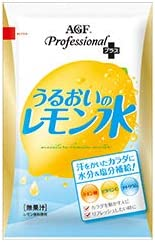 AGF うるおいのレモン水 100g×20袋