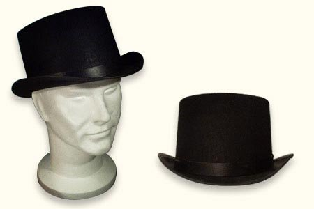US To (Black Stove Pipe Hat)