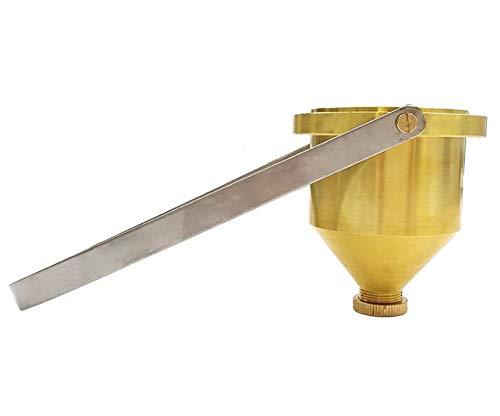 【即発送可能】 Hanchen T-4 粘度カップ 銅質塗料粘度測定カップ B078V4G5RF Hanchen 112~685cSt T-4 携帯型 ハンドル 業務用 B078V4G5RF, スマホケース【Harmonia shop】:34a25a67 --- sinefi.org.br
