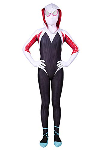 Panmeihua Halloween Costume Girl Body Suit Spandex Lycra Superhero Bodysuit Jumpsuit,S