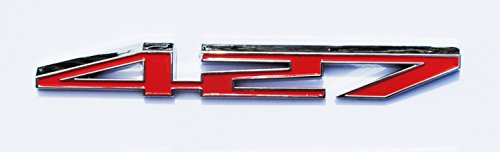 Used, 427 HP Red Emblem for Chevrolet Corvette Engine Hood for sale  Delivered anywhere in USA