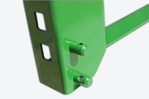 """42"""" Pallet Fork Attachment with 2"""" Trailer Receiver Hitch fits John Deere Loader"""