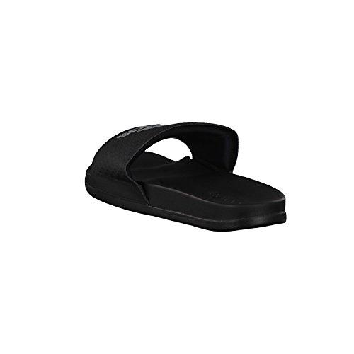 adidas Herren Badeschlappen adilette CF+ C core black/silver met./core black 50