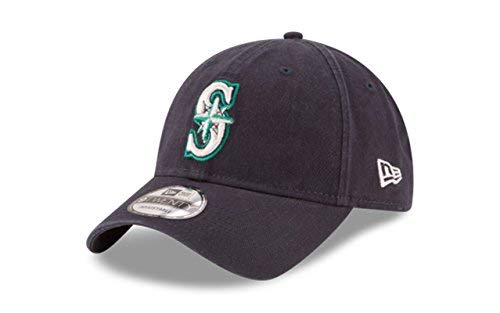 New Era 920 MLB CORE Classic Replica Seattle Mariners 9TWENTY DAD Cap Game ()