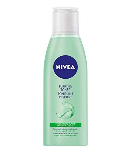 NIVEA Purifying Facial Toner for Dry & Sensitive Skin, 200 mL