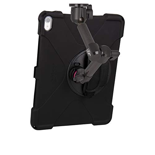 The Joy Factory MagConnect Carbon Fiber Wall/Counter Mount with aXtion Bold MP Water-Resistant Rugged Shockproof Case for iPad Pro 12.9'' [3rd Gen], Built-in Screen Protector, Hand Strap (MWA4104MP) by The Joy Factory (Image #2)