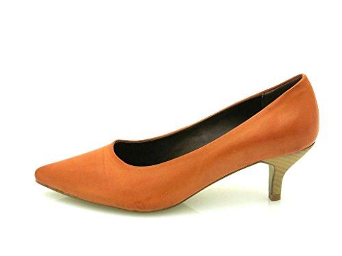 Gino Ventori - classic Court shoes - Ladies' shoes - High Heels - turquoise - orange Orange QpYCnAxw