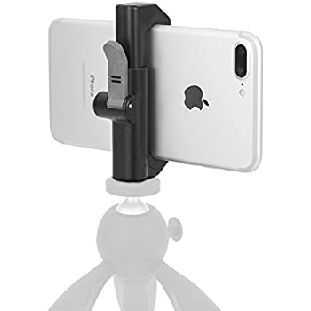 Glif - Quick Release Tripod Mount For Smartphones (Apple iPhone, Samsung Galaxy, Google Pixel, etc). Universal, fits all devices, portrait or landscape.