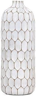 Torre Tagus Tall Carved Divot Vase