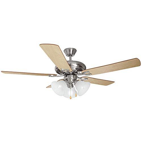 Design House 154013 Bristol 3 Light Ceiling Fan 52