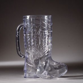 Cowboy Boot 17 oz. Plastic (Plastic Boot Mug)