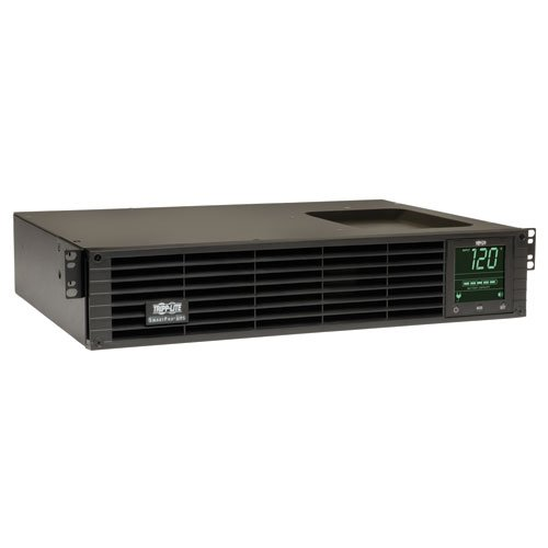 Tripp Lite 1500VA Smart UPS Back Up, Sine Wave, 1350W Line-Interactive, 2U Rackmount, LCD, USB, DB9 (SMART1500RM2U) (Line Smartpro)