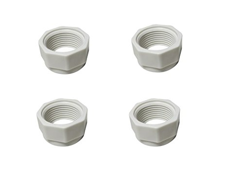 Southeastern Manufacturing AfterMarket Replacement for feed hose nut 4 pack on pool cleaner 280 (380 Feed Polaris)