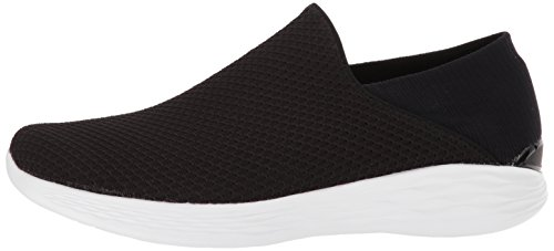 blanc Baskets Enfiler You Noir Skechers Femme pvqXxEdw