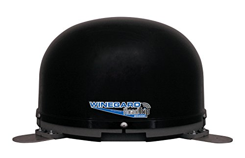 Winegard RT4035S RoadTrip Mission Black Stationary Satellite TV Antenna