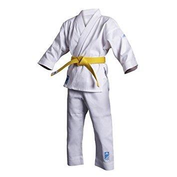 Adidas Karateanzug Junior (K200E) Doppelgröße 190/200 cm (1 Anzug - 2 Größen) - Der Anzug der mitwächst