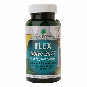 American BioSciences Flex Solve 24/7 Healthy Joint Support, Tablets 60 ea by Beststores (Solve 24/7 Healthy)