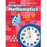Progress In Mathematics Workbook, Grade 1