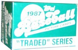 1987 Topps Traded Baseball Factory Set ()