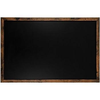 Rustic Framed Premium Surface Magnetic Large Chalk Board- 24