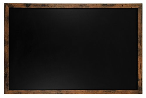 (Rustic Wood Premium Surface Magnetic Large Chalk Board- 24