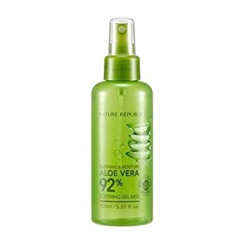 3 Pack NATURE REPUBLIC Aloe Vera 92 Soothing Gel Mist