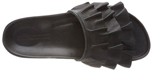 Pantoletten Lisa Slide ESPRIT Schwarz Black Damen Fq676ZnY