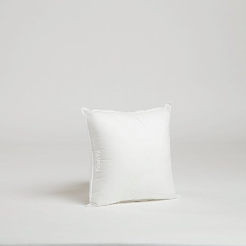 Fantastic Deal! Foamily Premium Hypoallergenic Stuffer Pillow Insert Sham Square Form Polyester, 12...