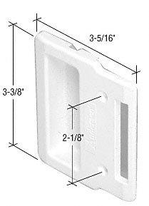 Crl White Plastic Andersen Sliding Screen Door Inside Pull
