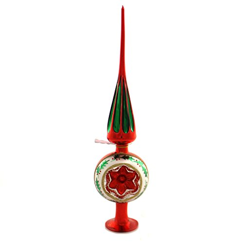 Tree Topper Finial Holly Reflector Tree Topper Free Standing...
