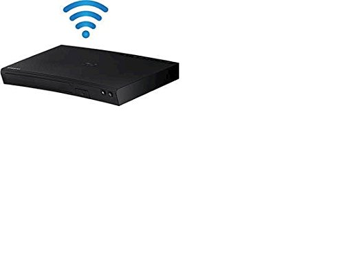 Samsung Blu-Ray Player with Built-in Wi-Fi-Apps Built-in for Streaming +HDMI Cable by Samsung
